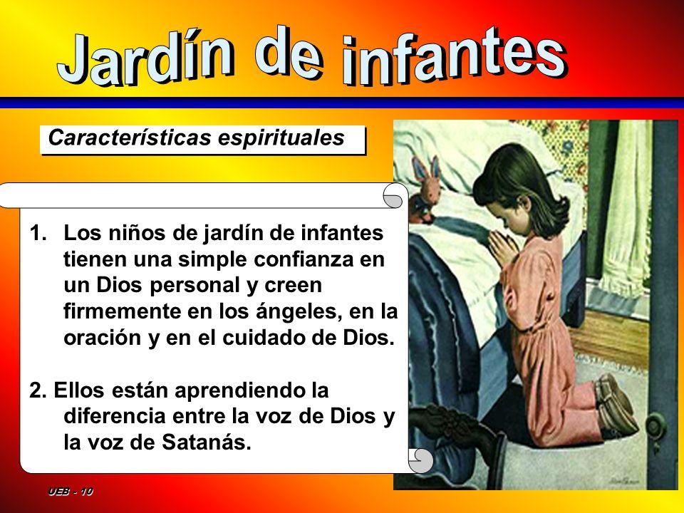 Jardín de infantes Características espirituales