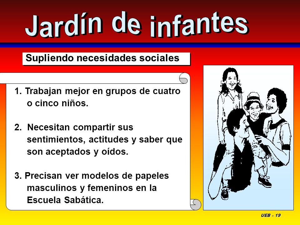 Jardín de infantes Supliendo necesidades sociales