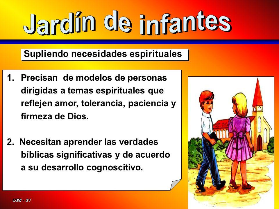Jardín de infantes Supliendo necesidades espirituales