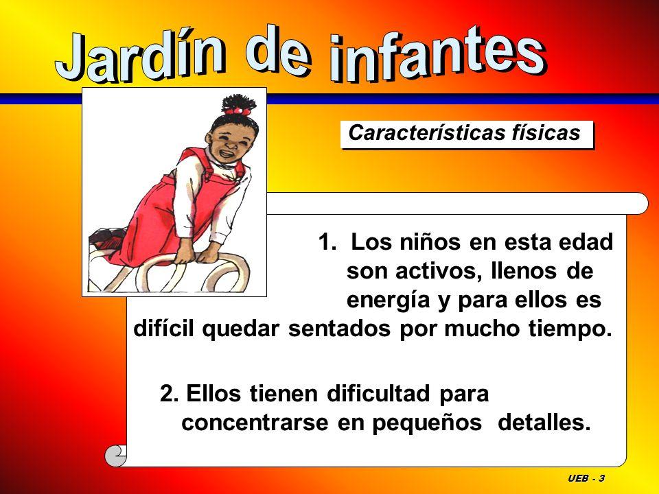 Jardín de infantesCaracterísticas físicas.