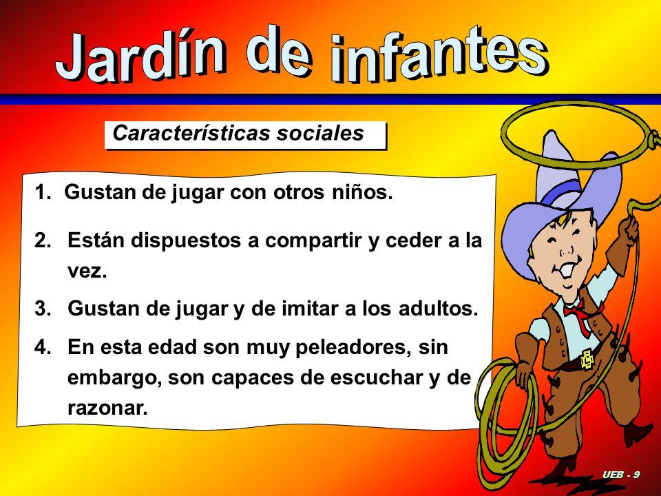 Jardín de infantes Características sociales