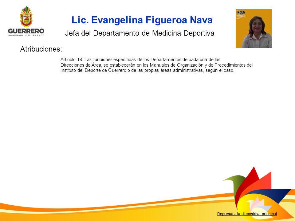 Lic. Evangelina Figueroa Nava
