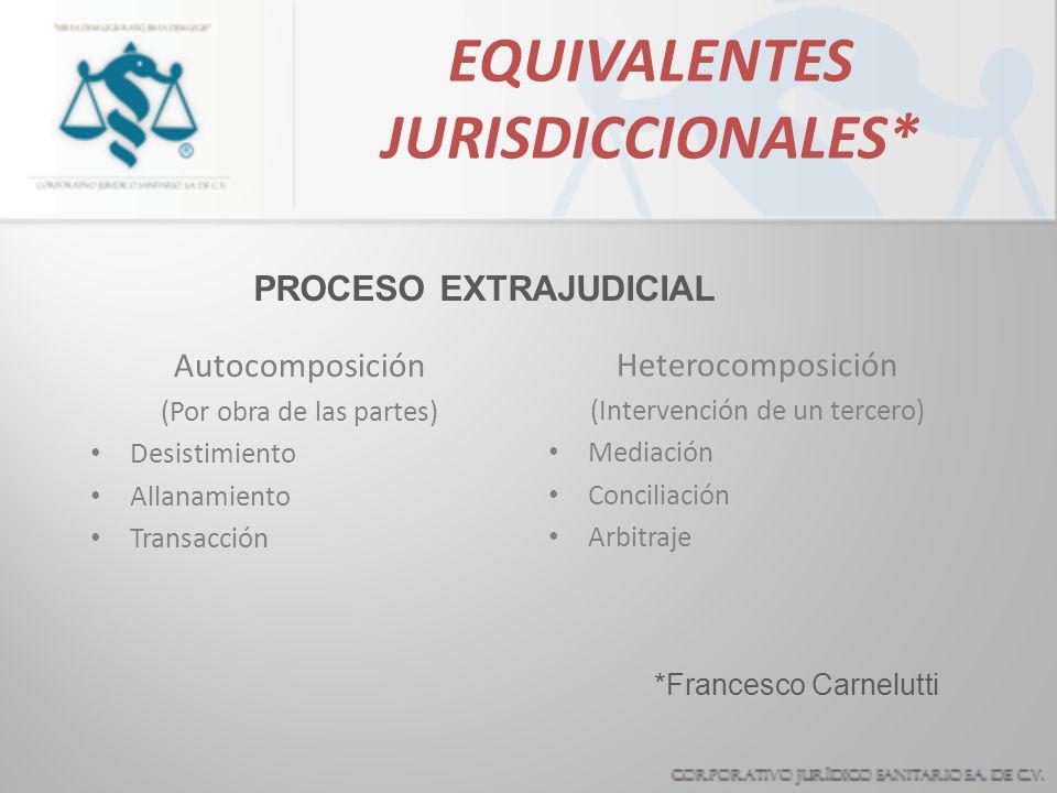 EQUIVALENTES JURISDICCIONALES*