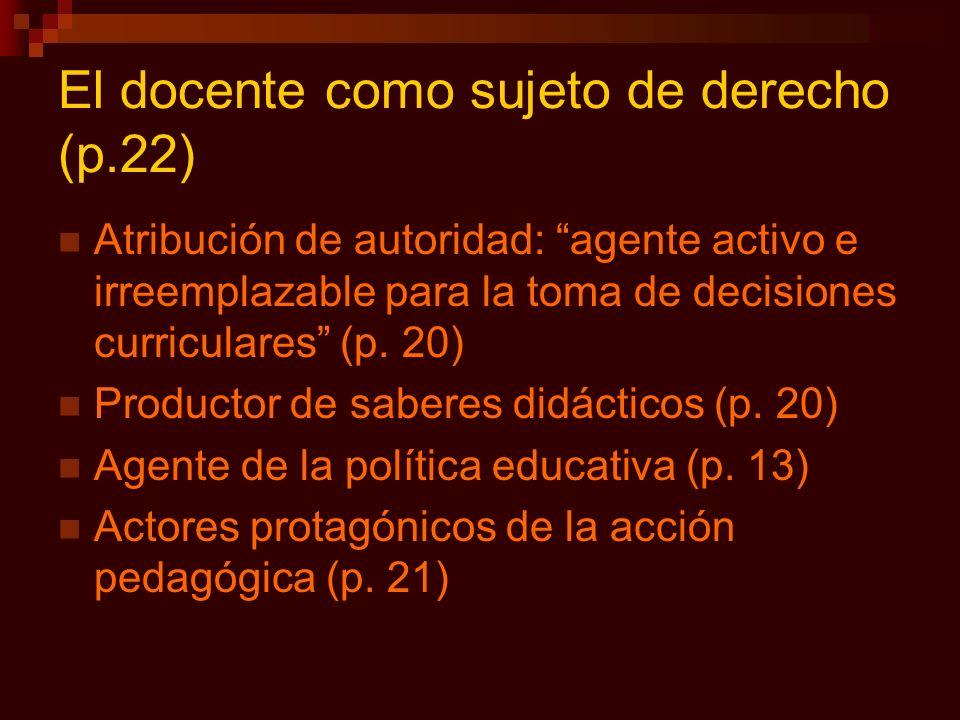 El docente como sujeto de derecho (p.22)
