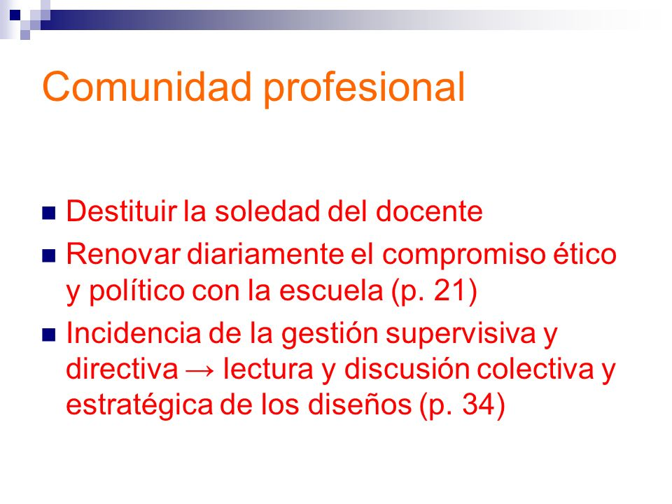 Comunidad profesional