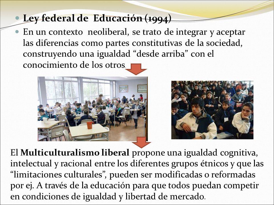Ley federal de Educación (1994)