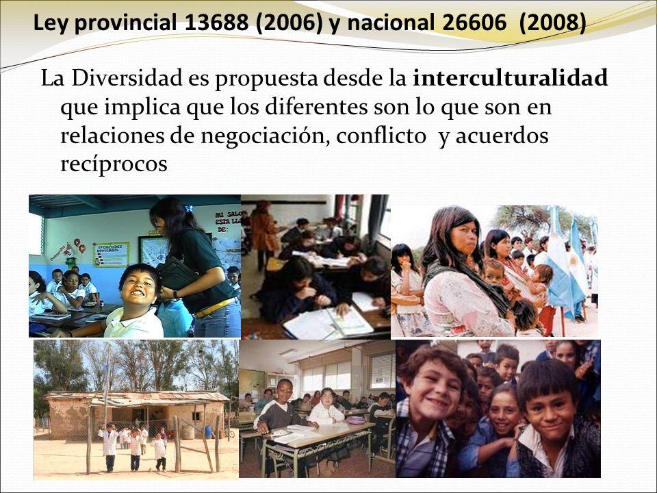 Ley provincial 13688 (2006) y nacional 26606 (2008)