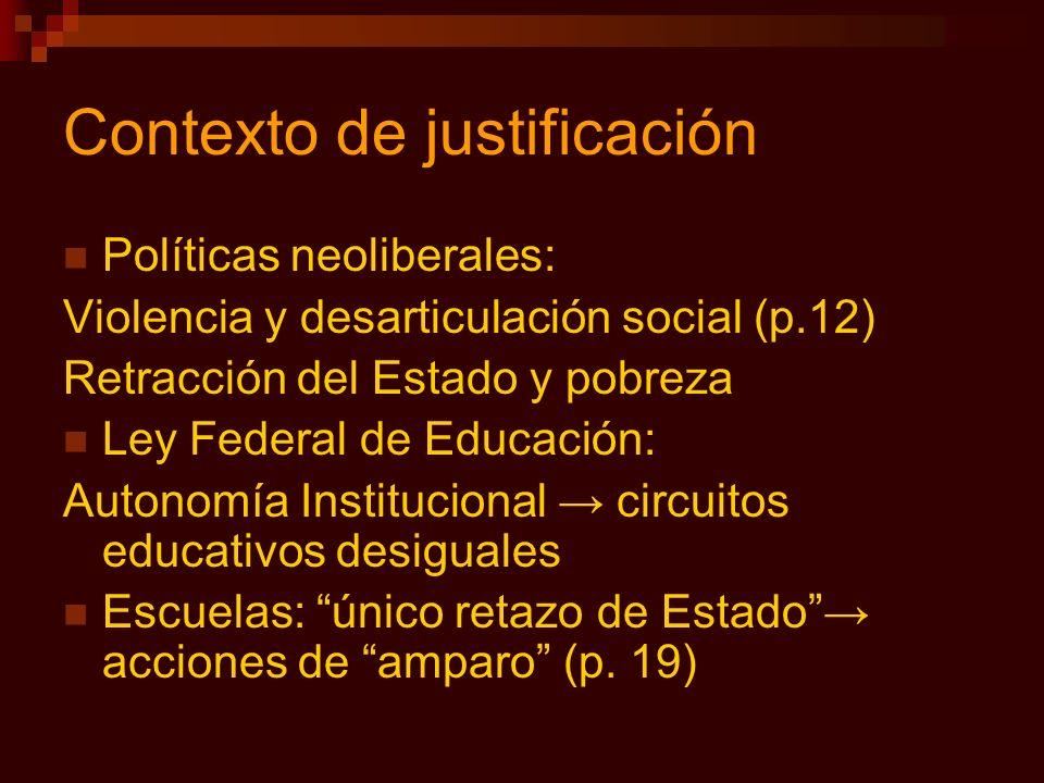 Contexto de justificación