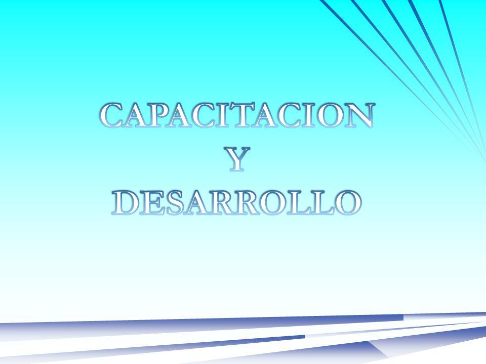 CAPACITACION Y DESARROLLO