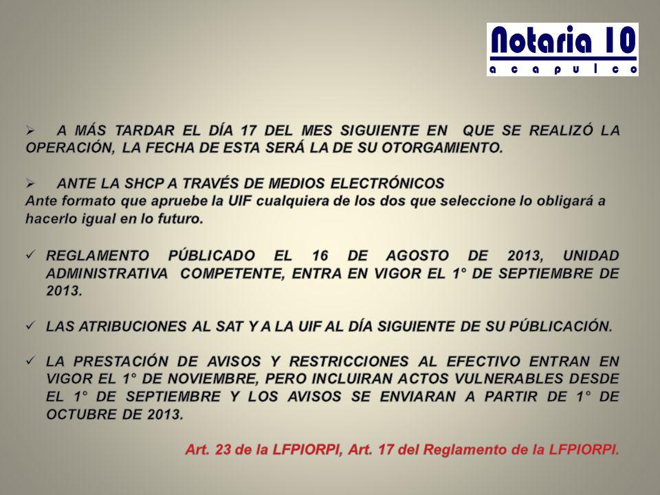 ANTE LA SHCP A TRAVÉS DE MEDIOS ELECTRÓNICOS