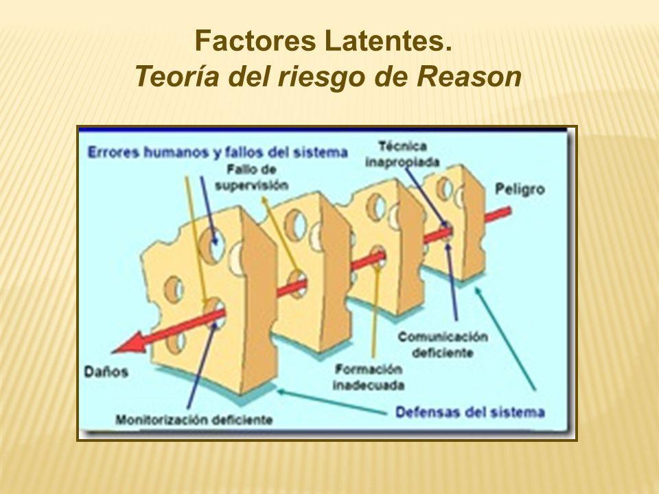 Teoría del riesgo de Reason