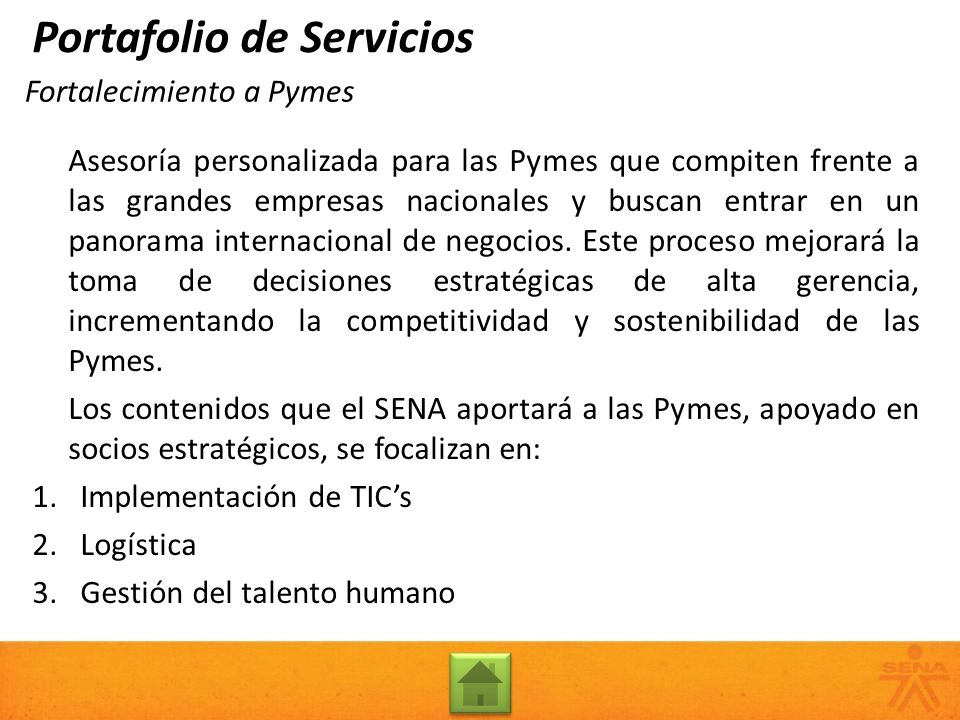 Fortalecimiento a Pymes