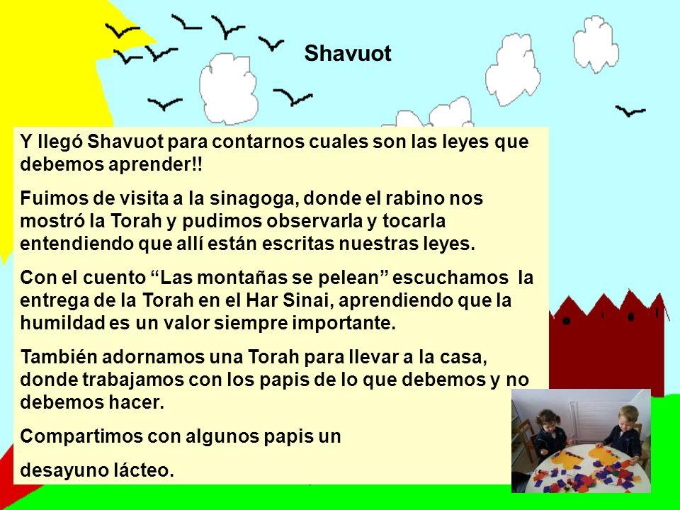 Shavuot Y llegó Shavuot para contarnos cuales son las leyes que debemos aprender!!