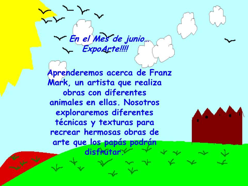 En el Mes de junio… ExpoArte!!!!