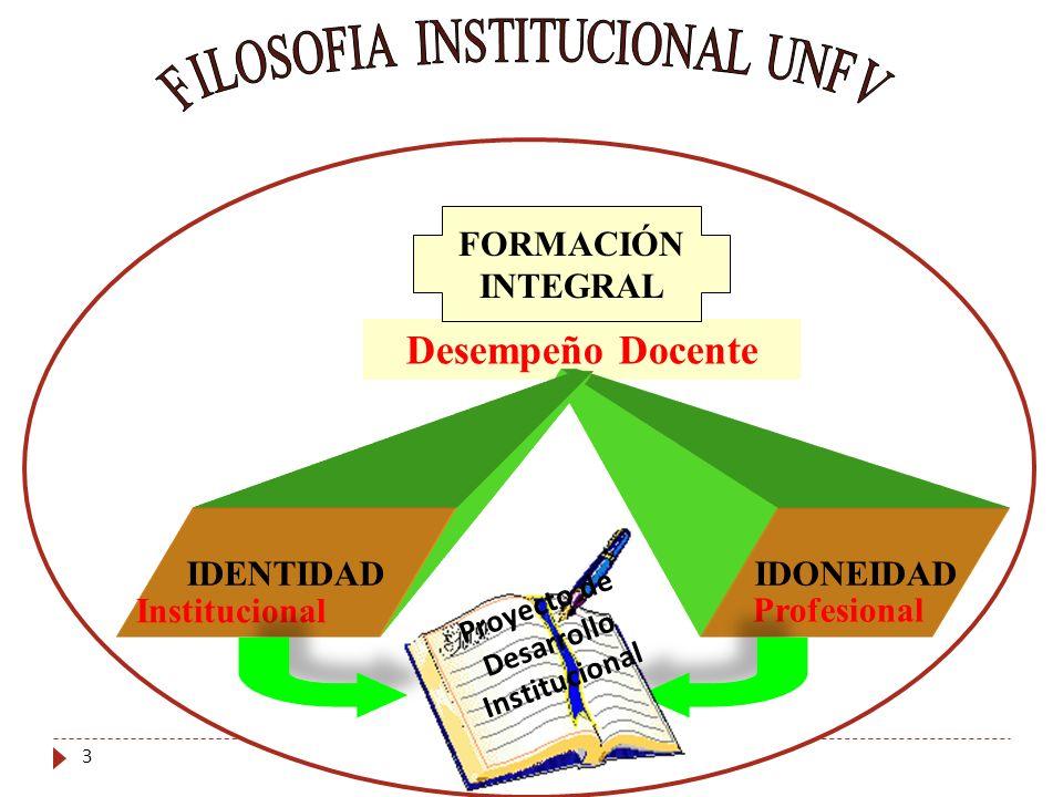 Proyecto de Desarrollo Institucional