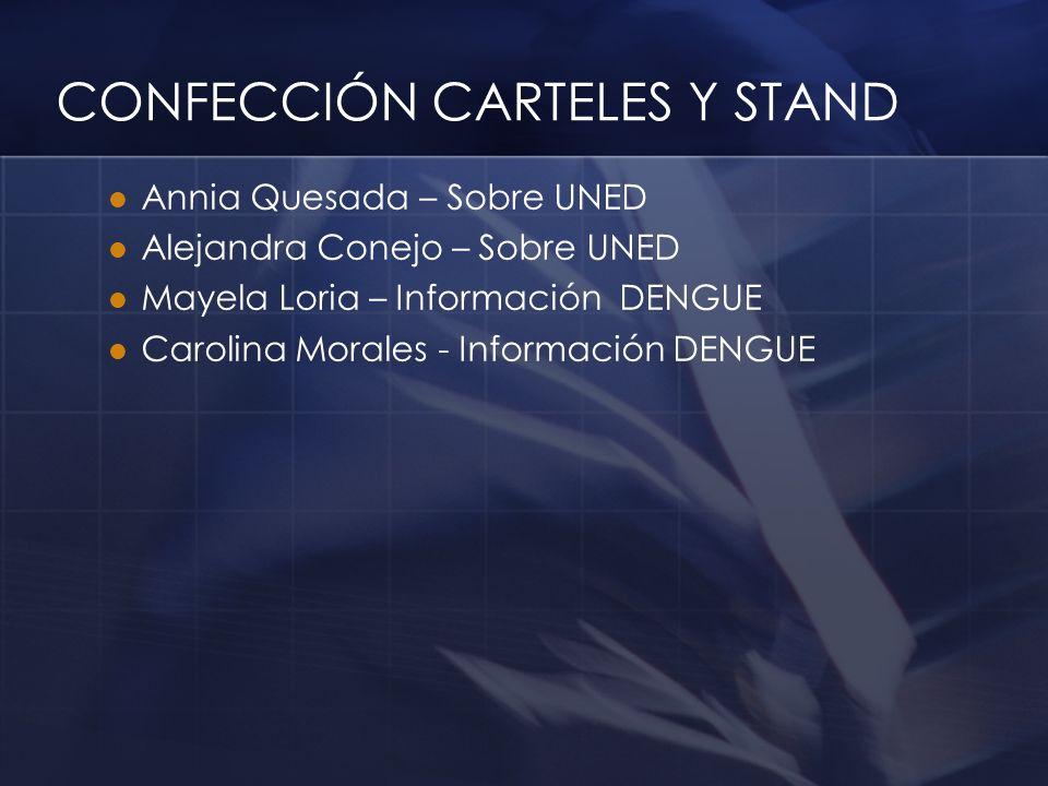 CONFECCIÓN CARTELES Y STAND