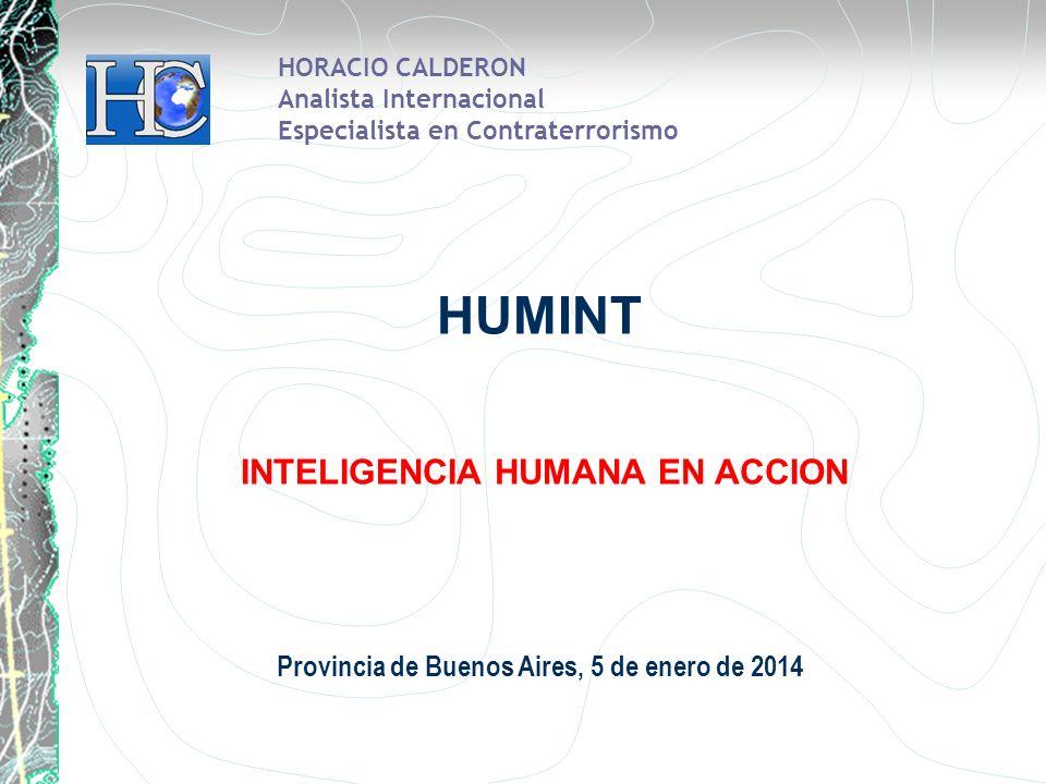 HUMINT INTELIGENCIA HUMANA EN ACCION