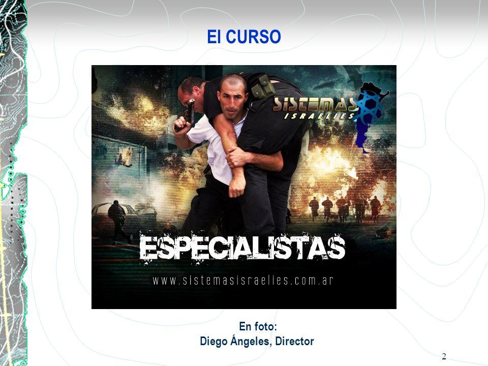 En foto: Diego Ángeles, Director