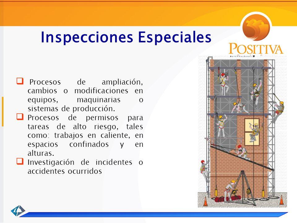 Inspecciones Especiales