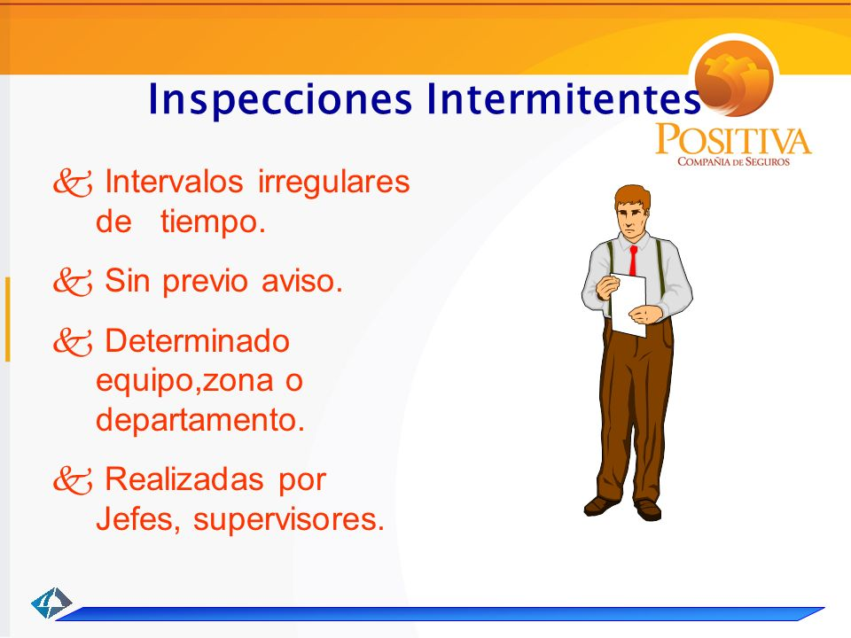 Inspecciones Intermitentes