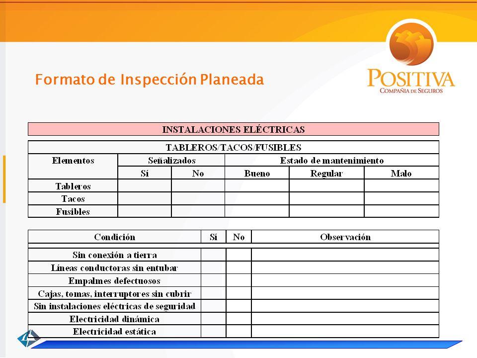 Formato de Inspección Planeada