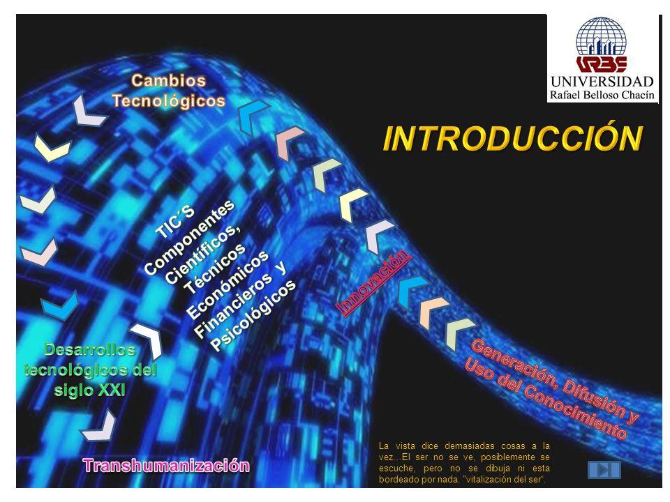 INTRODUCCIÓN Cambios Tecnológicos Componentes TIC´S