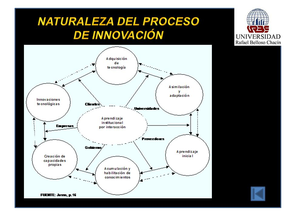 NATURALEZA DEL PROCESO DE INNOVACIÓN