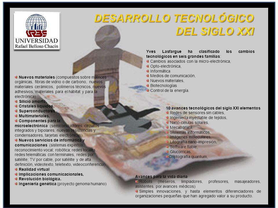 DESARROLLO TECNOLÓGICO DEL SIGLO XXI