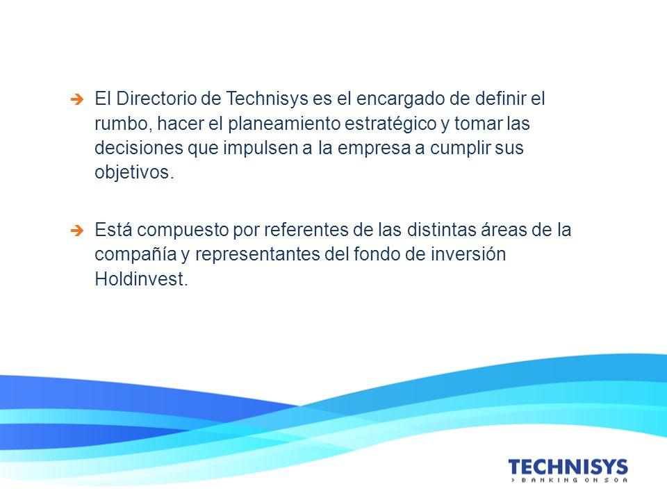 El Directorio de Technisys es el encargado de definir el rumbo, hacer el planeamiento estratégico y tomar las decisiones que impulsen a la empresa a cumplir sus objetivos.
