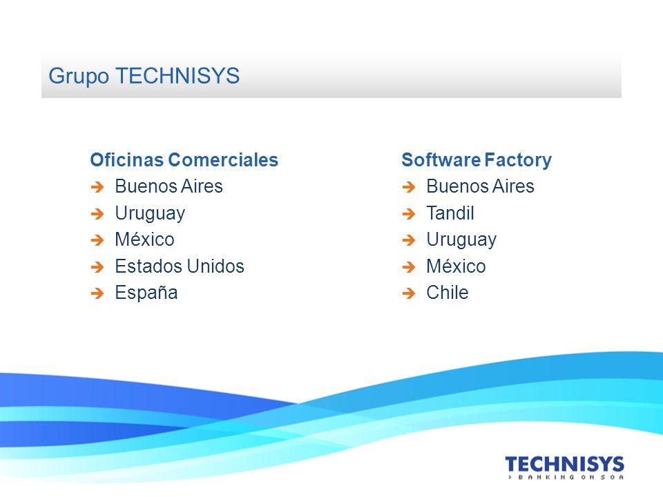 Grupo TECHNISYS Oficinas Comerciales Buenos Aires Uruguay México