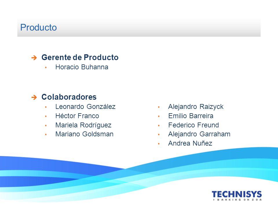 Producto Gerente de Producto Colaboradores Horacio Buhanna