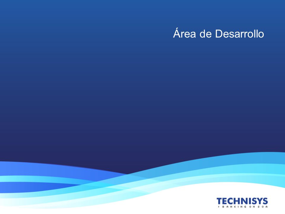 Área de Desarrollo