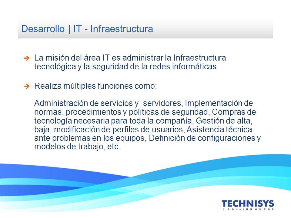 Desarrollo | IT - Infraestructura