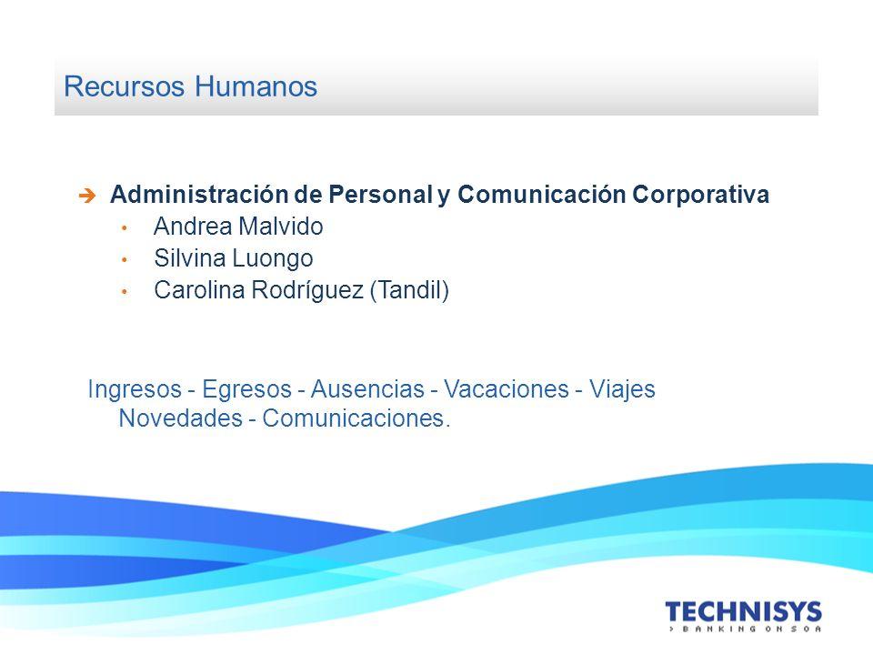 Recursos Humanos Administración de Personal y Comunicación Corporativa