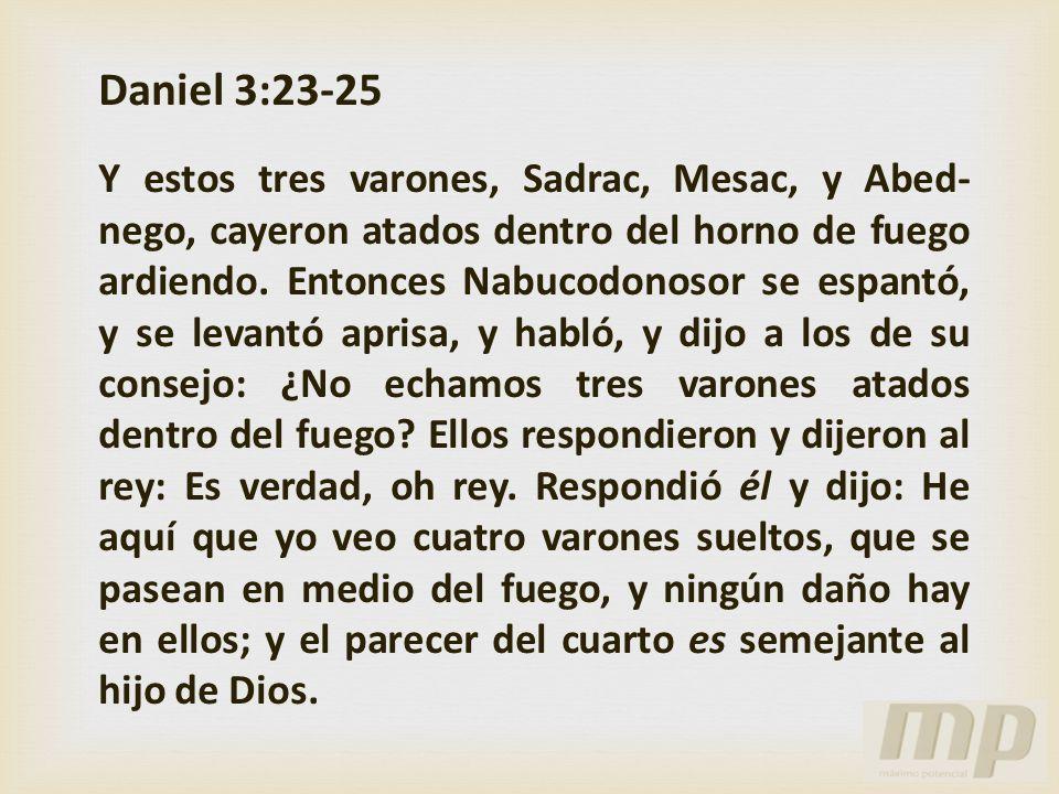 Daniel 3:23-25