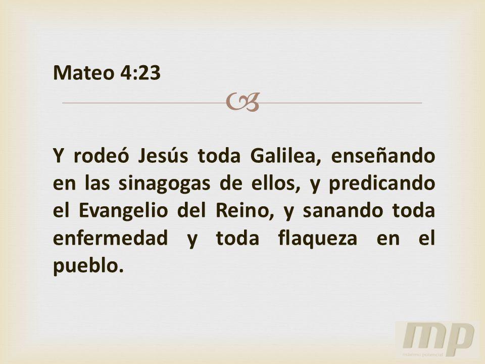 Mateo 4:23