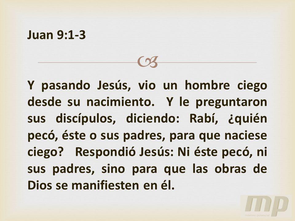 Juan 9:1-3