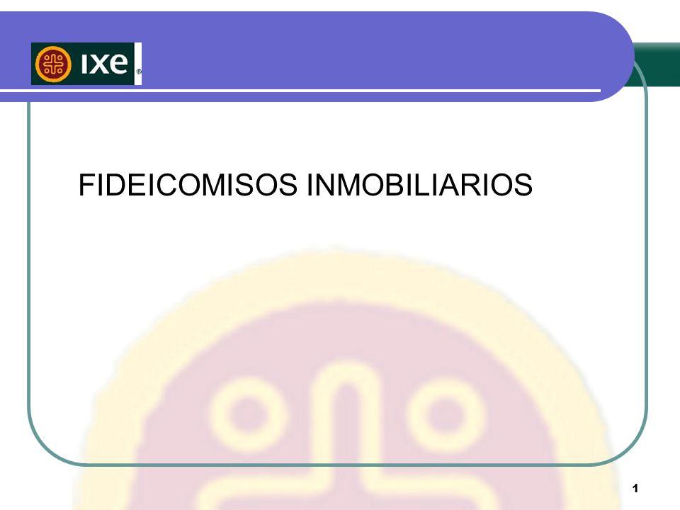 FIDEICOMISOS INMOBILIARIOS