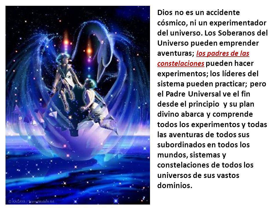 Dios no es un accidente cósmico, ni un experimentador del universo