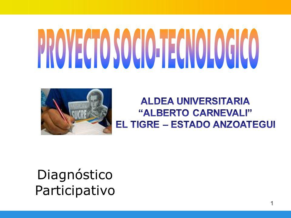PROYECTO SOCIO-TECNOLOGICO EL TIGRE – ESTADO ANZOATEGUI