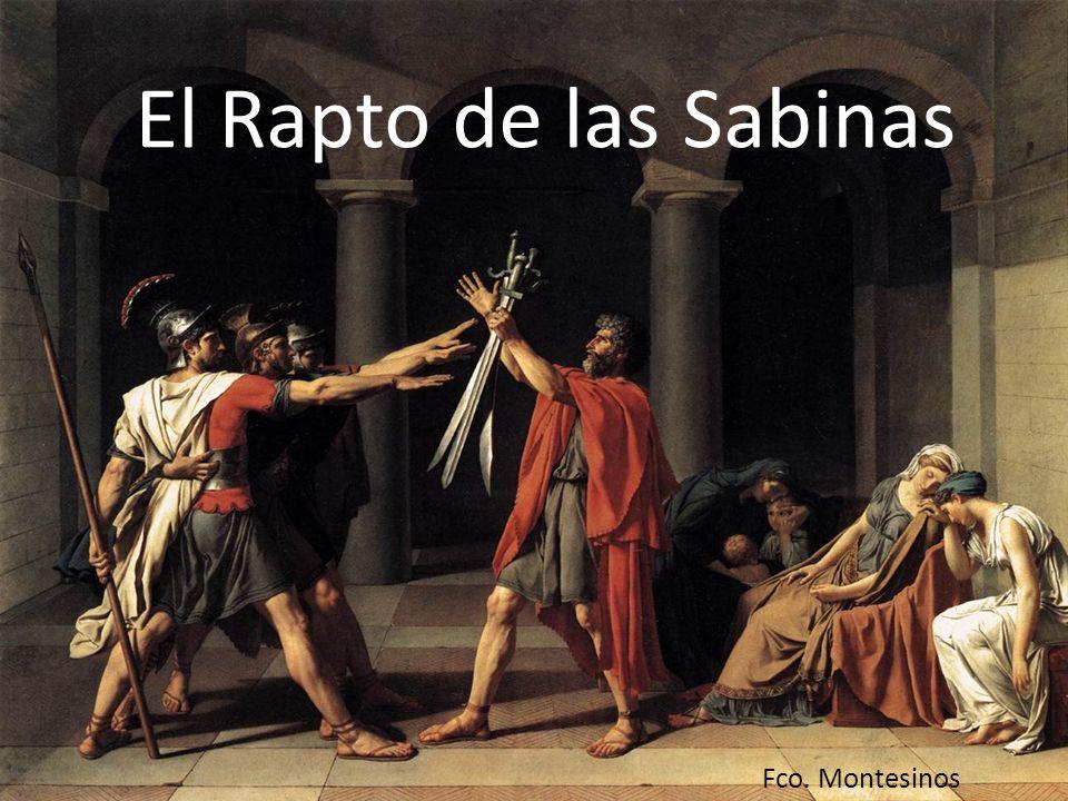 El Rapto de las Sabinas Fco. Montesinos