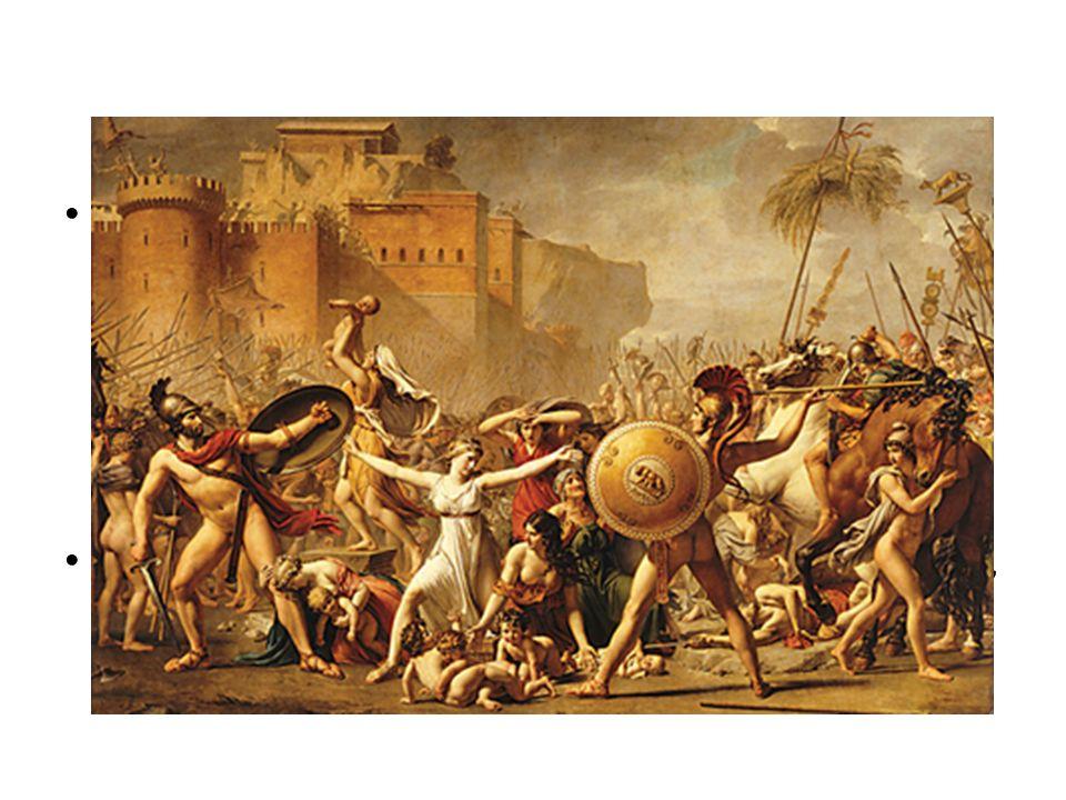 Los sabinos estaban al mando de Mecio Curcio, un charlatán que alardeaba constantemente acerca de lo que haría una vez que traspasara las puertas de Roma. Pero su caballo se encabritó y corrió hacia un pantano fuera de control y se ahogó. Mecio Curcio se salvó de la muerte pero no del susto y huyó despavorido del combate.