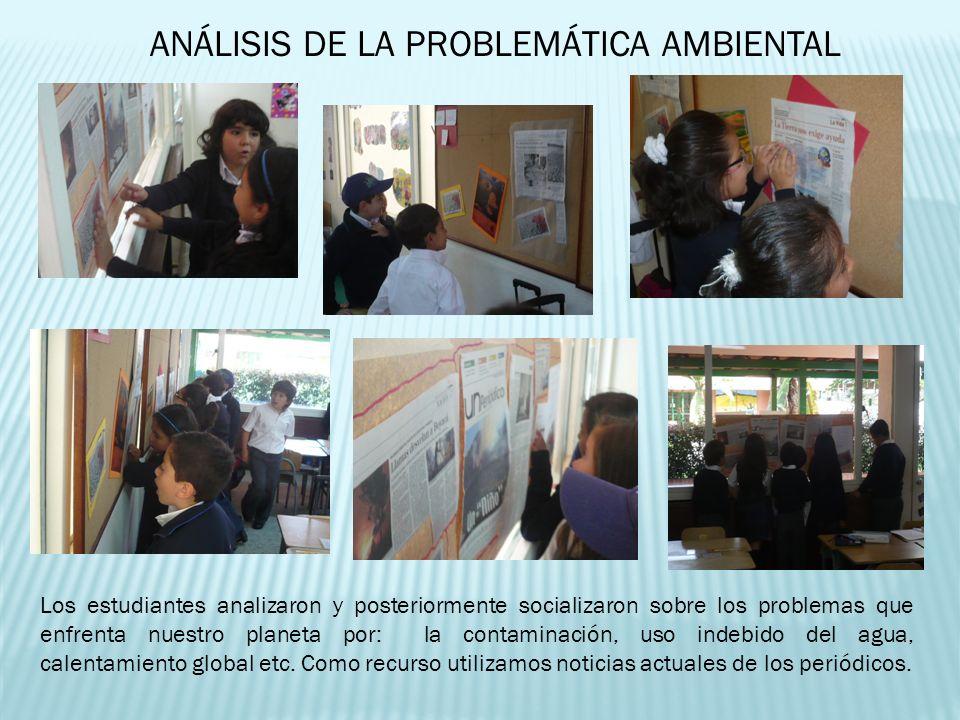 ANÁLISIS DE LA PROBLEMÁTICA AMBIENTAL