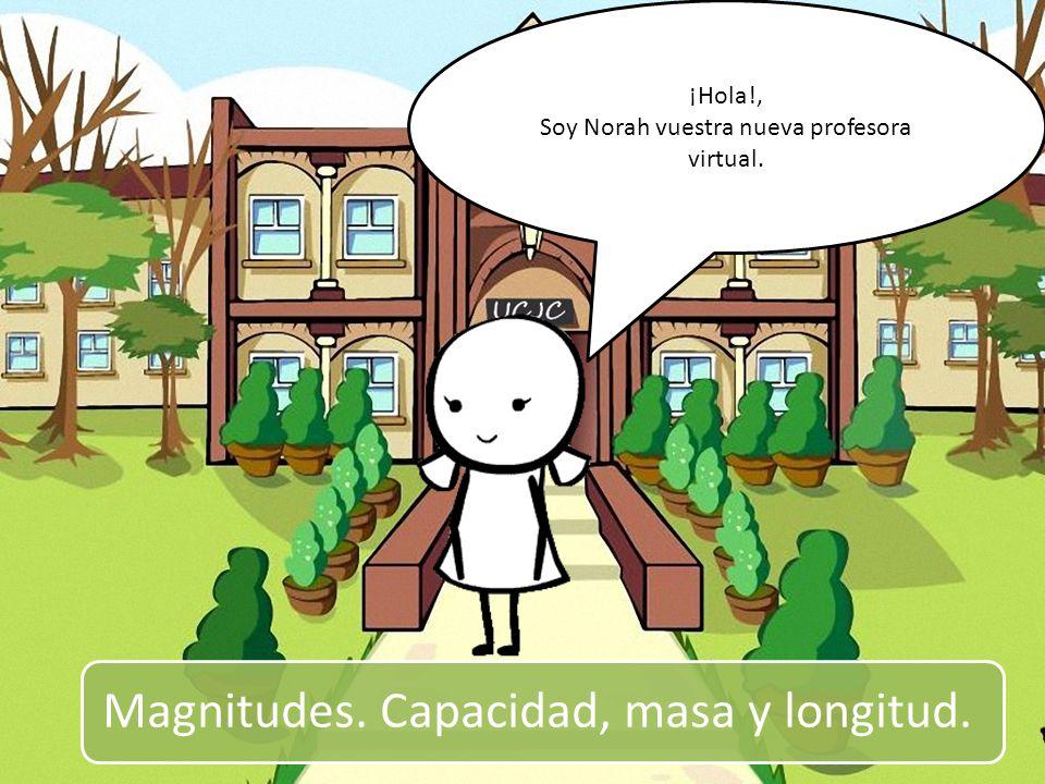 Soy Norah vuestra nueva profesora virtual.