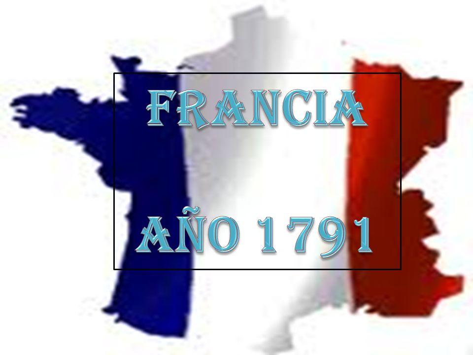 FRANCIA AÑO 1791