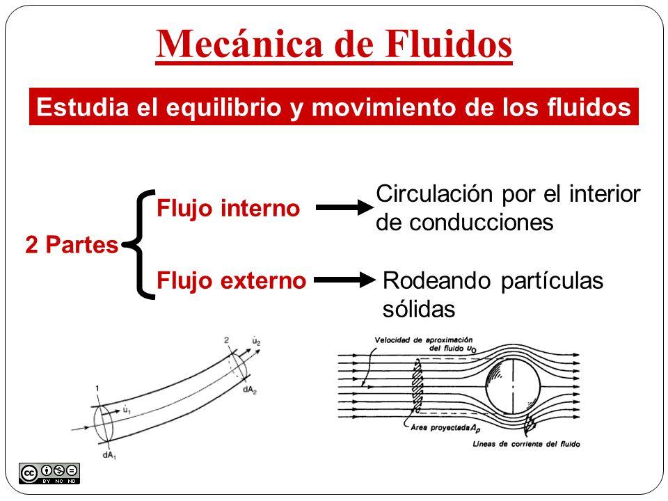 Estudia el equilibrio y movimiento de los fluidos