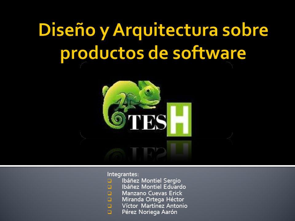 Diseño y Arquitectura sobre productos de software