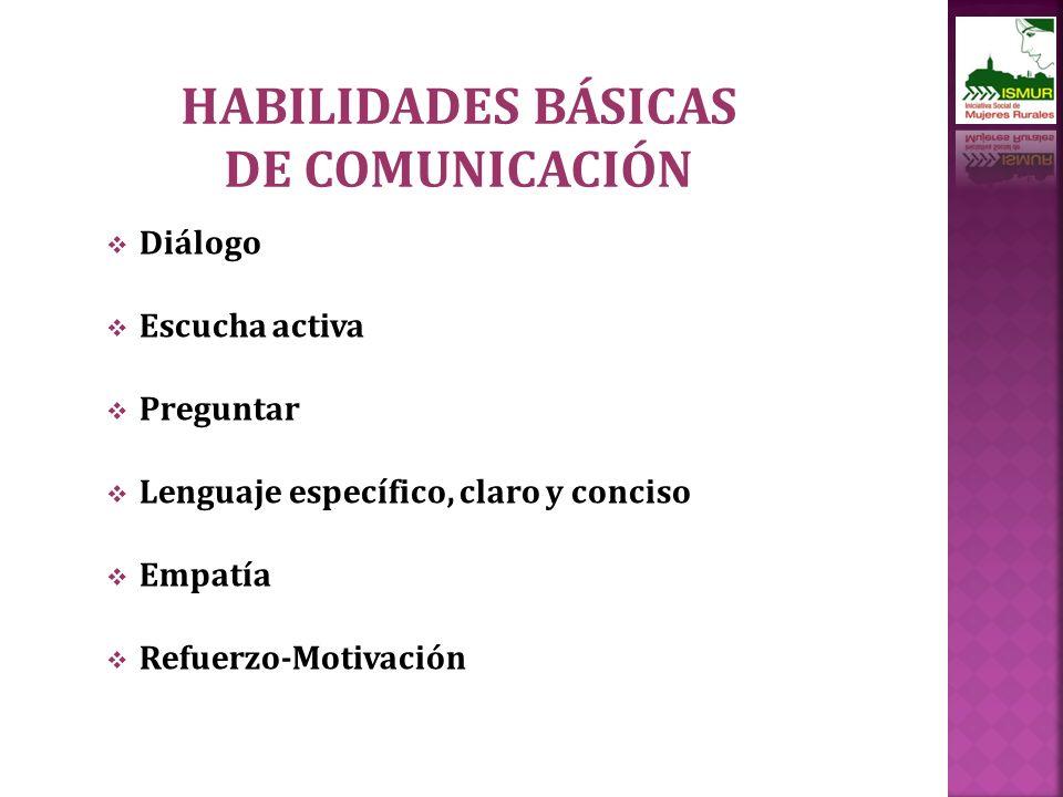 HABILIDADES BÁSICAS DE COMUNICACIÓN