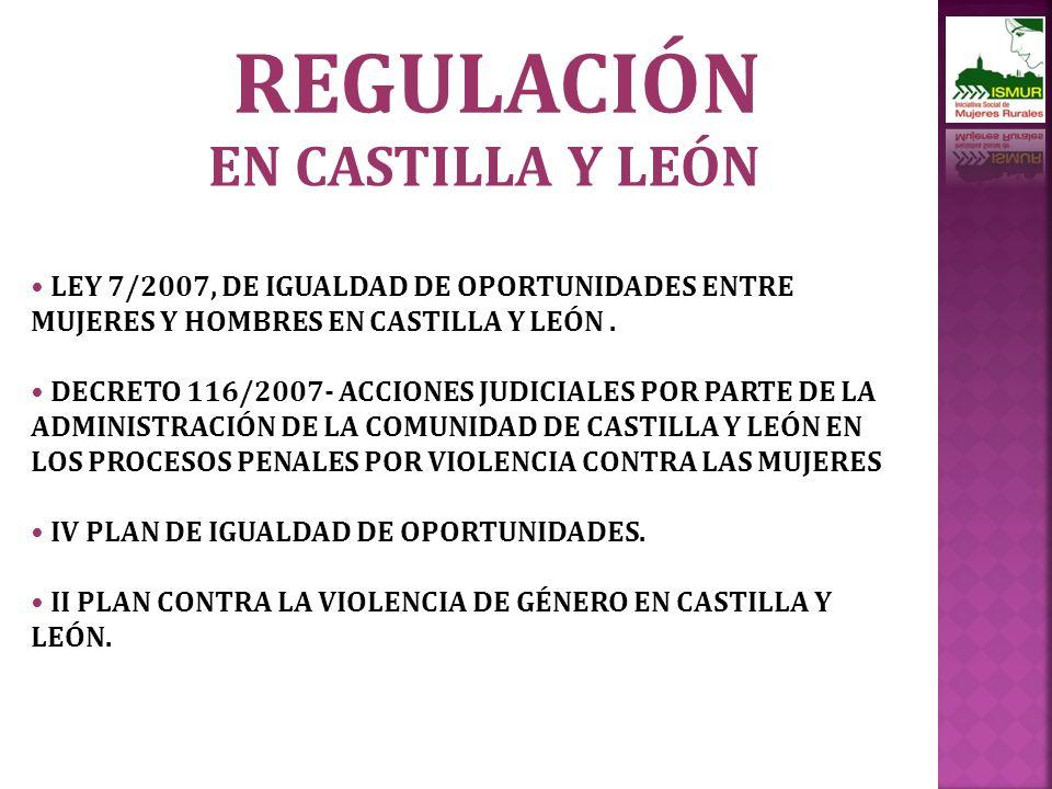 REGULACIÓN EN CASTILLA Y LEÓN