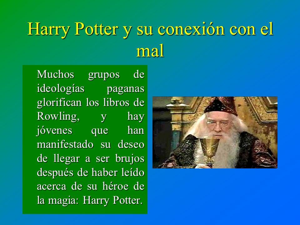 Harry Potter y su conexión con el mal
